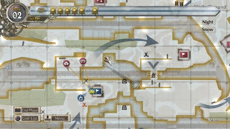 Тактическая карта стильно и наглядно демонстрирует происходящее на поле боя