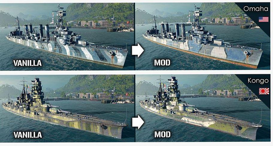 World of warships лучшие моды 2019